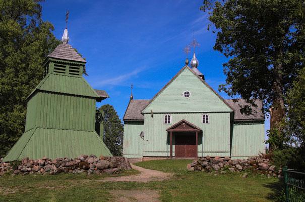 Holzkirche bei Kalnalis
