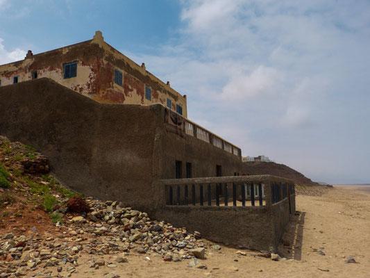 Sidi Ifni, marokkanische Strandvilla