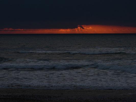 spektakulärer Sonnenuntergang