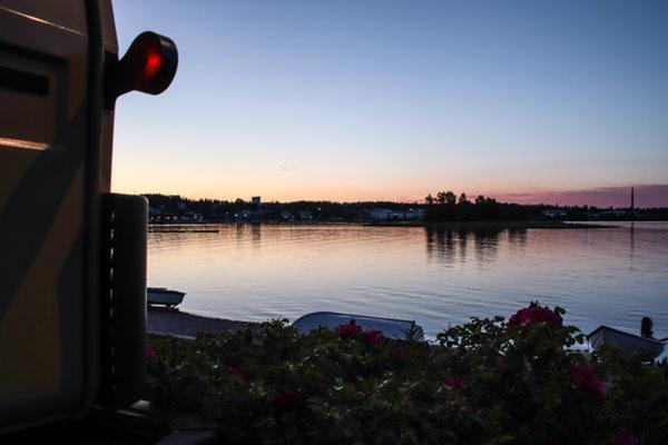 Kuopio, Nachtplatz
