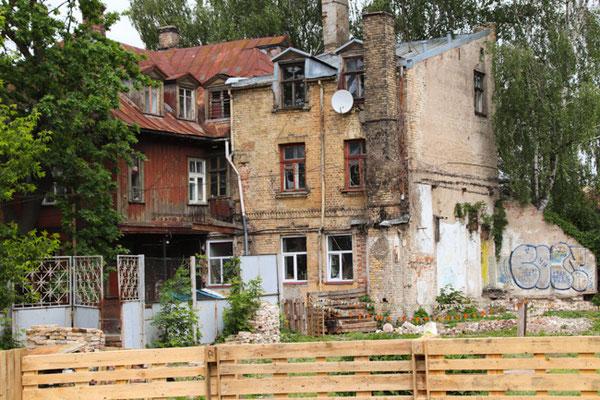 Riga, kleiner Renovierungsstau