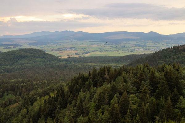 Blick zum Puy de Sancy