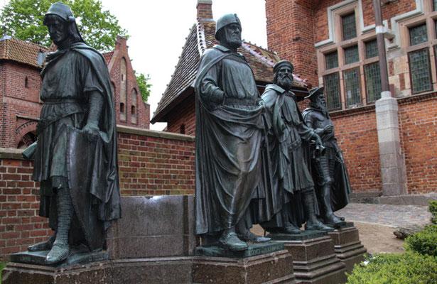 Marienberg, die vier Gründer