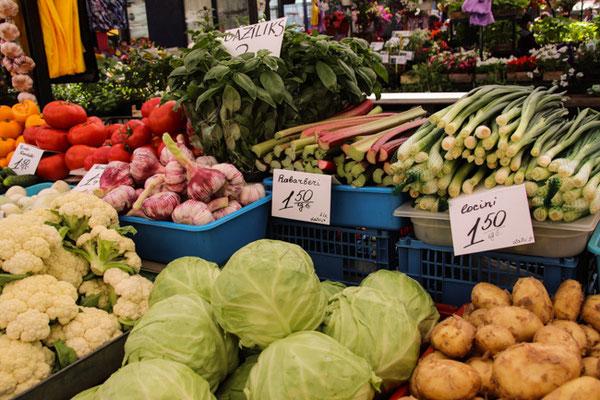 Riga, Markt