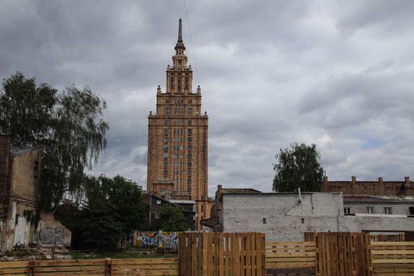 Riga, sowas gibt es in fast jeder ehemaligen Sowjetstadt