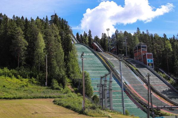 Sprungschanze in Kuopio