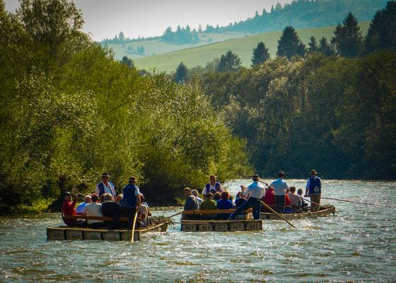 Flößer am Dunjavec