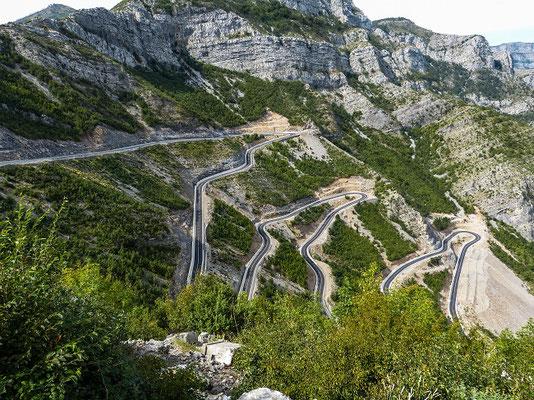 Straße nach Tamare