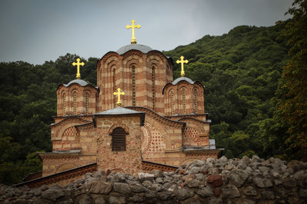 Kloster Ravanica XIV. Jh., Serbien