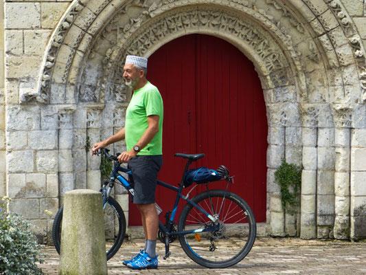 auf dem Weg nach Saumur