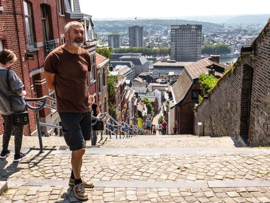 Liège, Montagne de Bueren