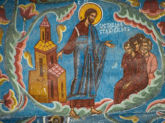 außenfresken Kloster Moldovita