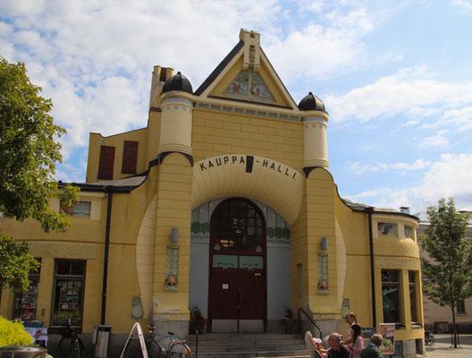 Kuopio, Markthalle