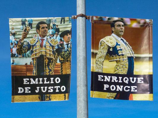 Soria, Werbung für Stierkämpfer