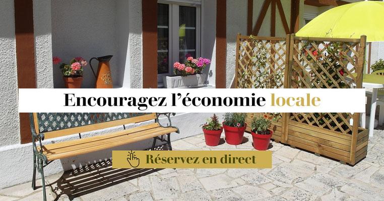 Encouragez l'économie locale