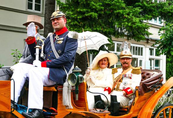 Die Kaisertage in Heringsdorf (1. August Wochenende)
