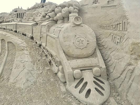 Sandskulpturen-Ausstellung Ahlbeck