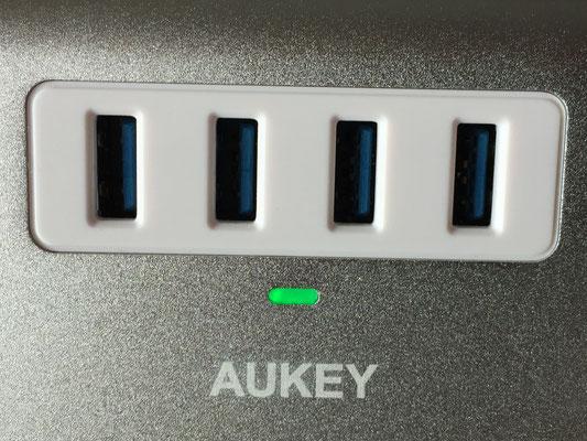 Grüne Kontroll LED