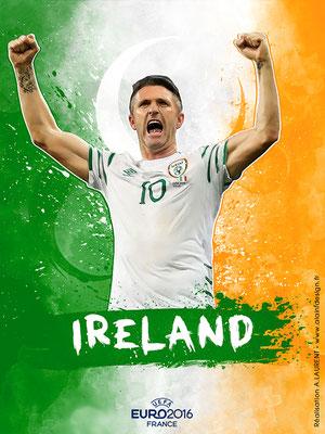 Irlande UEFA Euro 2016 - Affiche