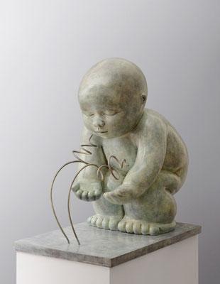 Diálogo                -                bronce            -                     67x50x37 cm.