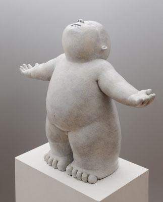 Lluvia           -          bronce          -          51x57x23 cm.