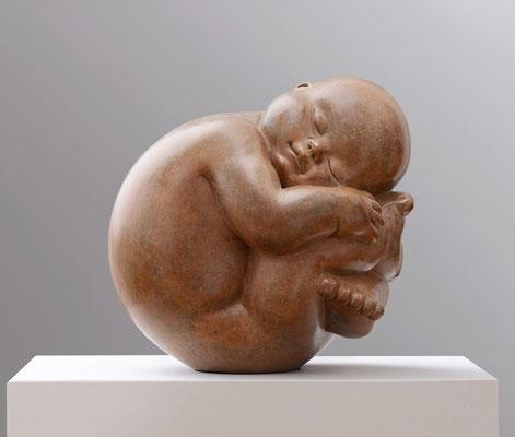 Respuesta            -              bronce               -                    28x25x25 cm.
