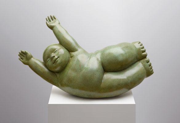 Río       -         bronce           -      38 x 66 x 23 cm.
