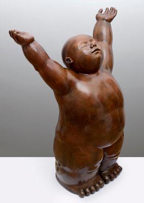 Vida             -                bronce             -              110x82x46 cm.