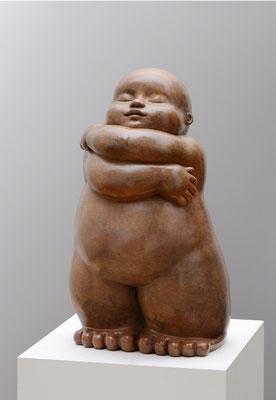 Abraçada           -           bronze             -           55x31x26 cm.