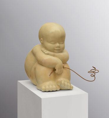 Flor      -        bronze       -          33 x 8 x 22