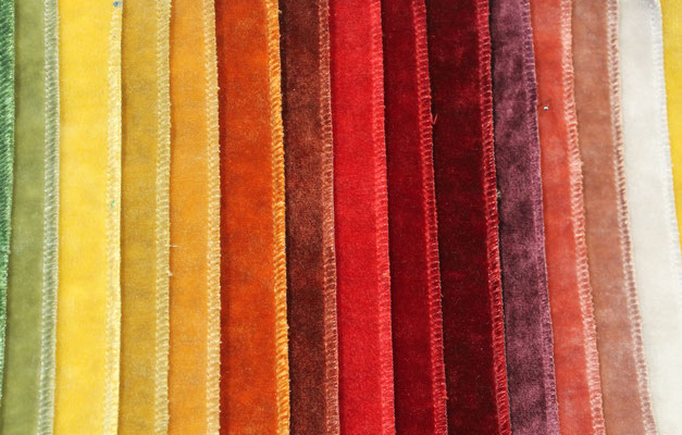 tissu velours 100% polyester