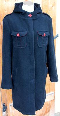 le manteau réalisé