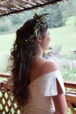 Robe de mariée en soie