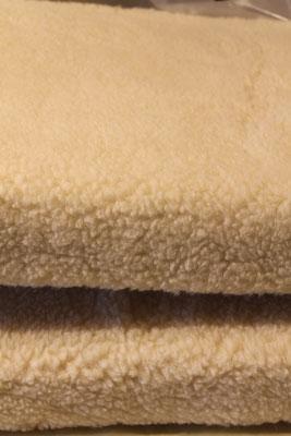 banquette 80%laine 20% coton
