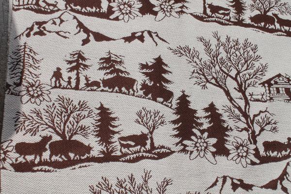 tissu coton/laine