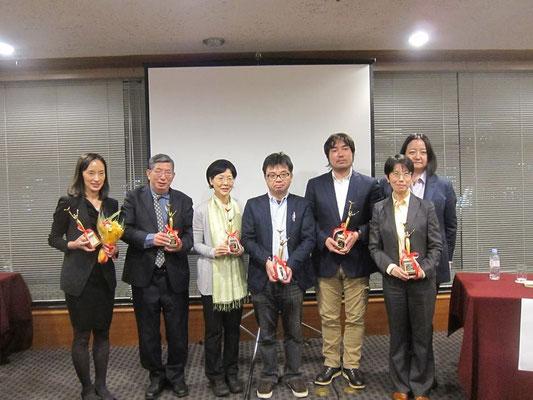 2015.11「日本ジャーナリスト協会賞出版部門優秀賞」受賞式