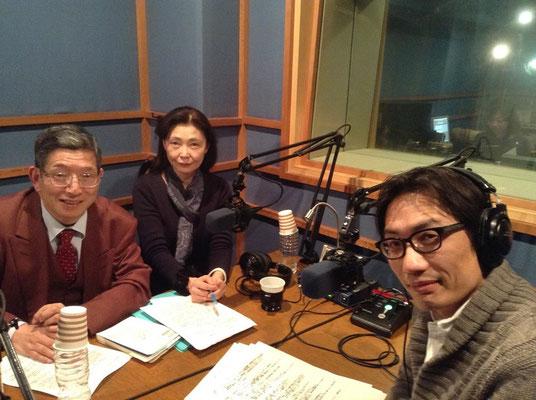 2015.2 社会活動家・湯浅誠さんのラジオ番組に出演