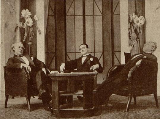 Stanisław Stanisławski Tadeusz Wesołowski  Jan Bonecki w sztuce Jedyny ratunek - Molnara ( T. Mały 1927 )