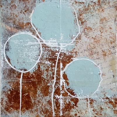 Spuren der Zeit 3 Grösse 15 x 15 cm