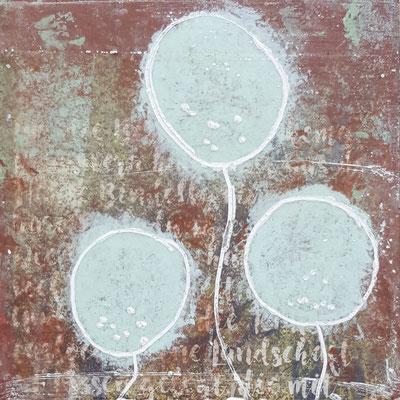 Spuren der Zeit 6 Grösse 15 x 15 cm