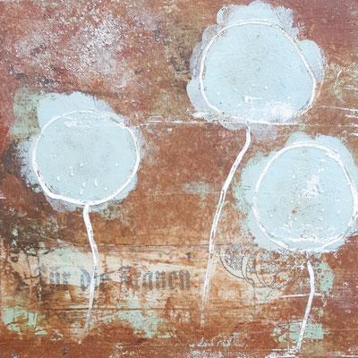 Spuren der Zeit 2 Grösse 15 x 15 cm