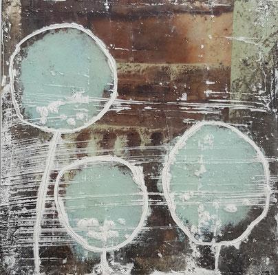 Spuren der Zeit 12 Grösse 15 x 15 cm