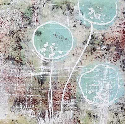Spuren der Zeit 8 Grösse 15 x 15 cm