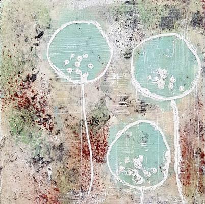 Spuren der Zeit 7 Grösse 15 x 15 cm