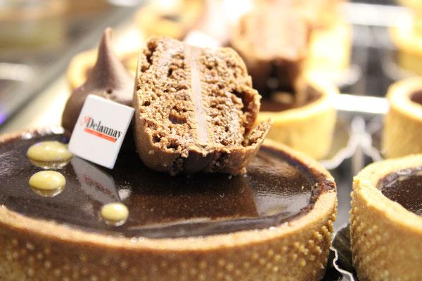 TARTE chocolat noir/caramel