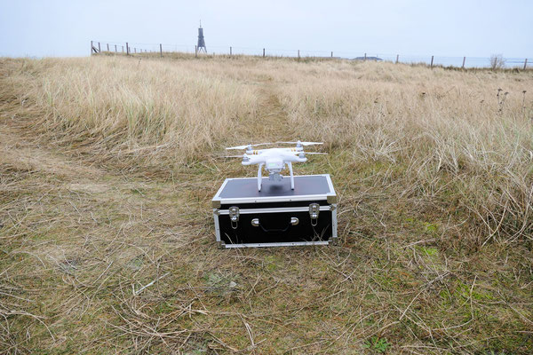 Drohne DJI Phantom 3 Professional für Luftaufnahmen