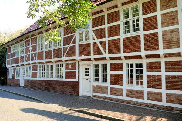 Die ehemalige Wache, heutige Galerie am Schloss Ritzebüttel