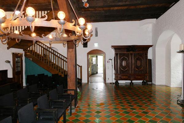Treppenaufgang im Schloss
