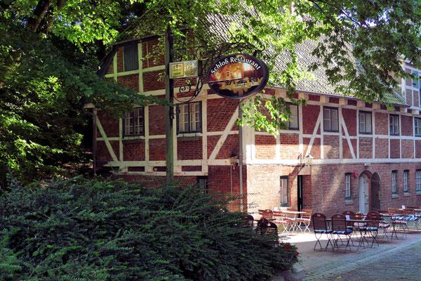 Nebengebäude am Schloss Ritzebüttel in Cuxhaven