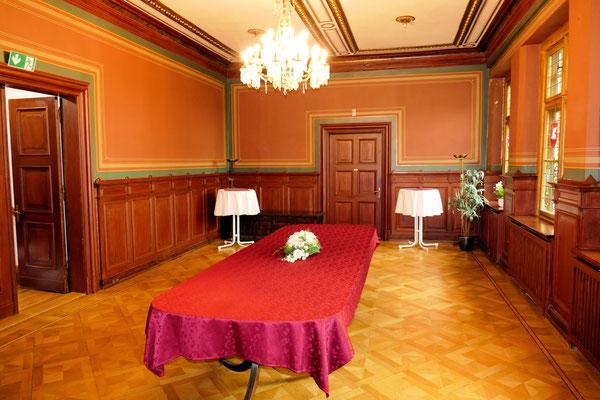 Speisesaal im Schloss Ritzebüttel